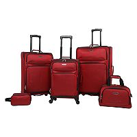 Prodigy Oak Park 5 pc Spinner Luggage Set