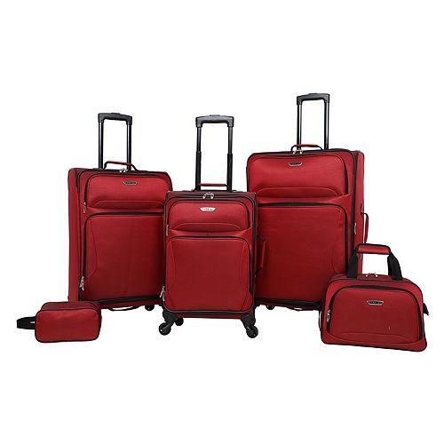 Prodigy Oak Park 5-Piece Spinner Luggage Set