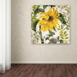 Trademark Fine Art Carina II Canvas Wall Art