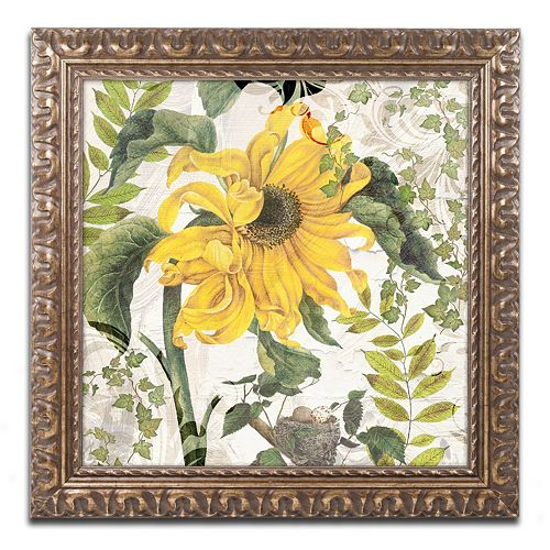 Trademark Fine Art Carina II Ornate Framed Wall Art