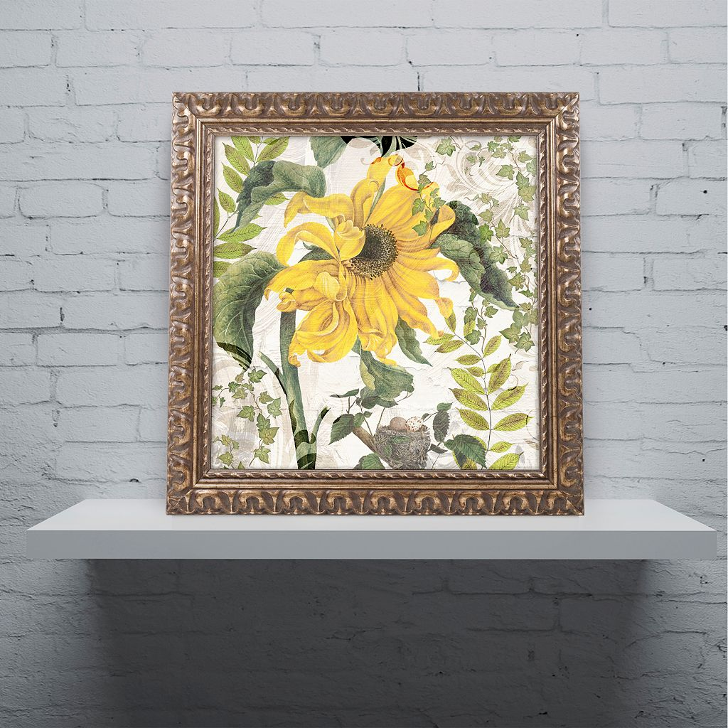 Trademark Fine Art Carina II Ornate Framed Wall Art