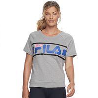 Women's FILA SPORT® Short Sleeve Sweatshirt Tee