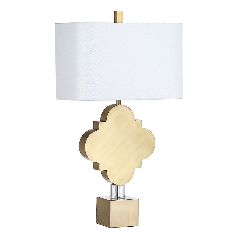 Safavieh Marina Quatrefoil Table Lamp, Gold