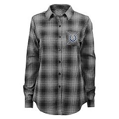 Juniors' Indianapolis Colts Dream Plaid Shirt