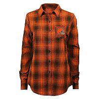 Women's Cleveland Browns Dream Plaid Shirt