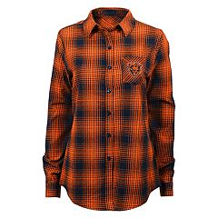 Juniors' Chicago Bears Dream Plaid Shirt