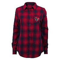 Women's Houston Texans Dream Plaid Shirt