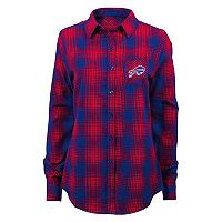 Juniors' Buffalo Bills Dream Plaid Shirt