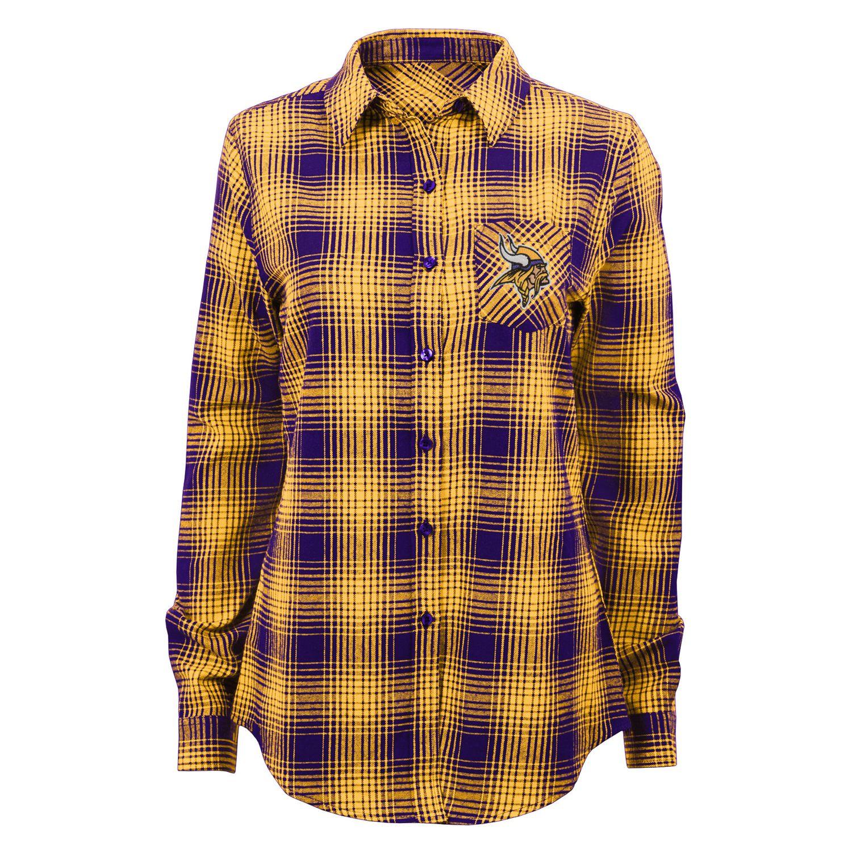 Minnesota Vikings Dream Plaid Shirt