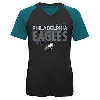 Girls 7-16 Philadelphia Eagles Decoder Ultra Jersey Tee