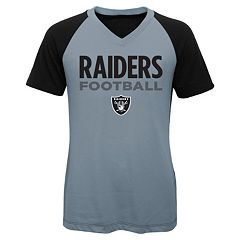 Girls 7-16 Oakland Raiders Decoder Ultra Jersey Tee