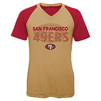 Girls 7-16 San Francisco 49ers Decoder Ultra Jersey Tee