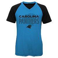 Girls 7-16 Carolina Panthers Decoder Ultra Jersey Tee