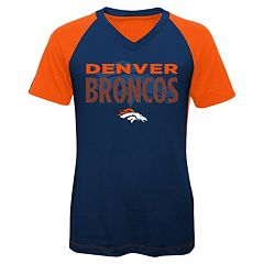 Girls 7-16 Denver Broncos Decoder Ultra Jersey Tee