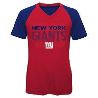 Girls 7-16 New York Giants Decoder Ultra Jersey Tee