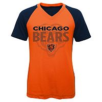 Girls 7-16 Chicago Bears Decoder Ultra Jersey Tee