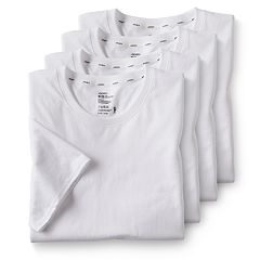 Men's Jockey 3-pack + 1 Bonus Essential Fit StayCool + Crewneck Tees