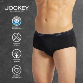 Men's Jockey 4-pack + 1 Bonus Essential Fit StayCool + Briefs