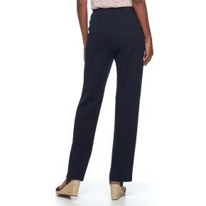 Women's Croft & Barrow® Pull-On Knit Lounge Pants