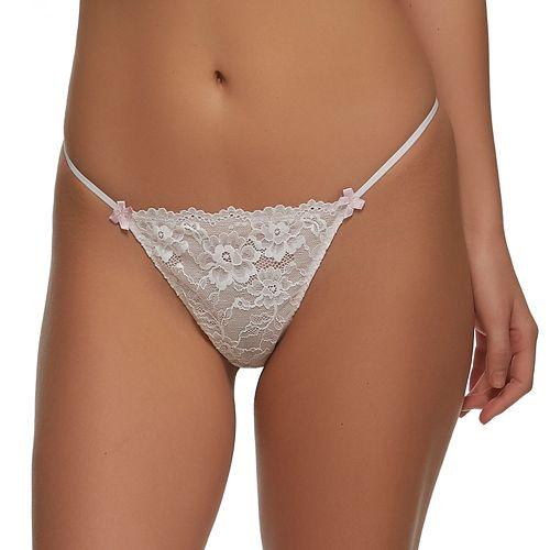 Jezebel Harlow Low Rise Lace G-String Panty 694P