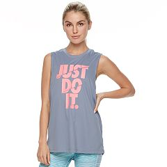 Women's Nike Dry Training 'Just Do It' Graphic Muscle Tank