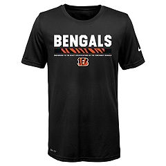 Boys 8-20 Nike Cincinnati Bengals Legend Staff Dri-FIT Tee