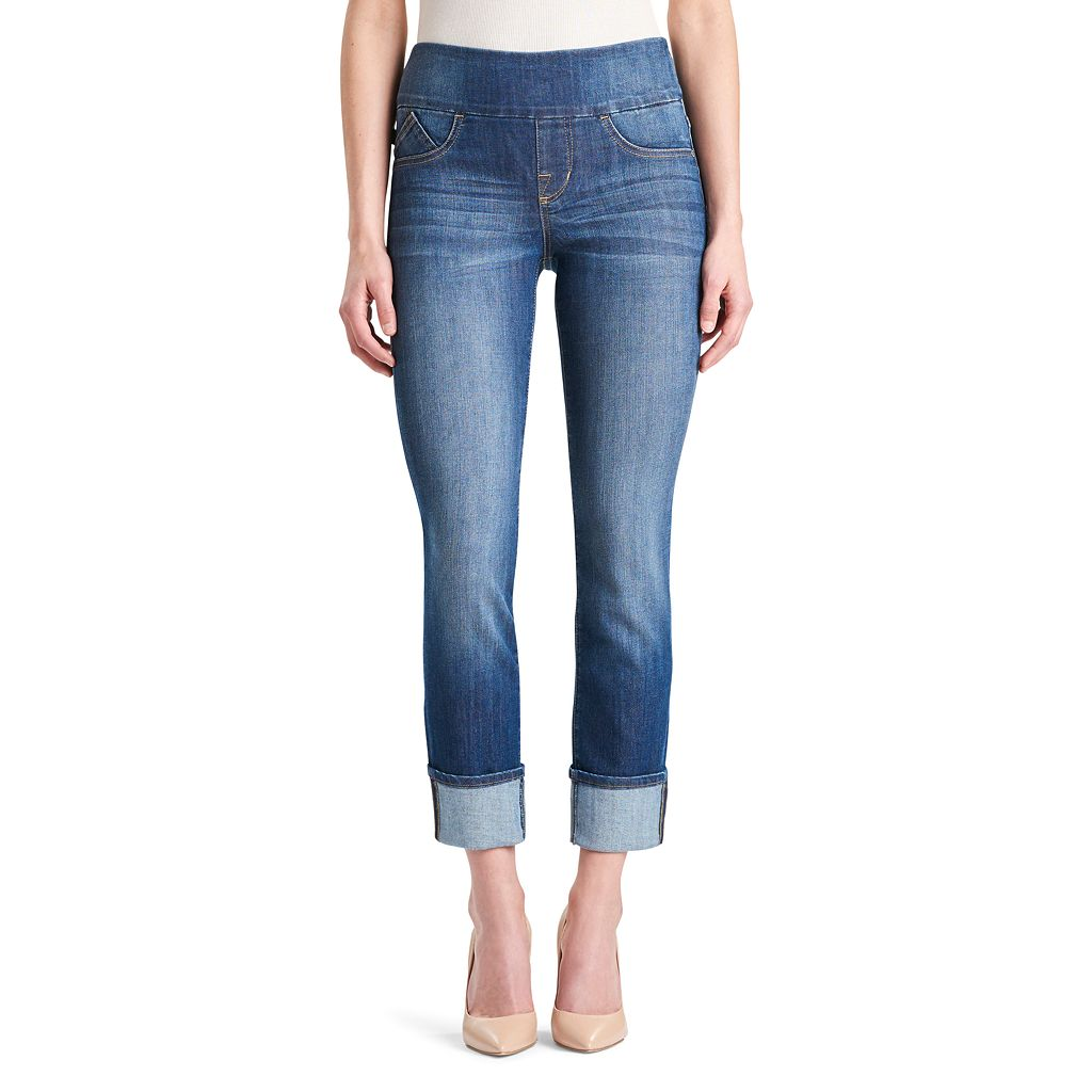 Women's' Rock & Republic® Fever Pull-On Straight Leg Jeans