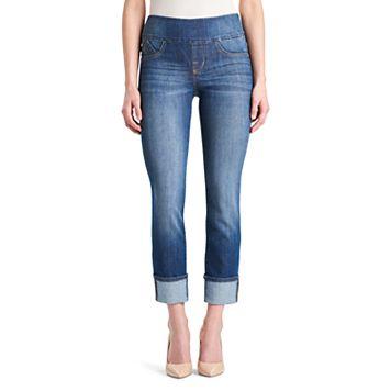 Women's' Rock & Republic® Fever Pull-On Straight Leg Jeans