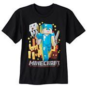 Boys 8-20 Minecraft Warrior Tee
