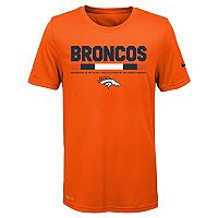 Boys 8-20 Nike Denver Broncos Legend Staff Dri-FIT Tee