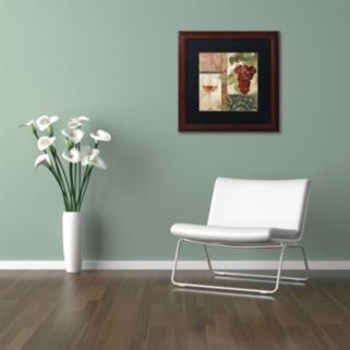 Trademark Fine Art Sofia I Framed Wall Art