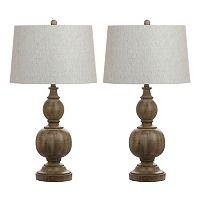 Safavieh Araceli Table Lamp 2-piece Set