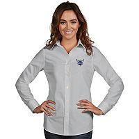 Women's Antigua Charlotte Hornets Dynasty Button-Down Shirt