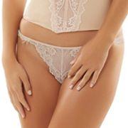 Jezebel Caress Too Sheer Lace Thong Panty 50533