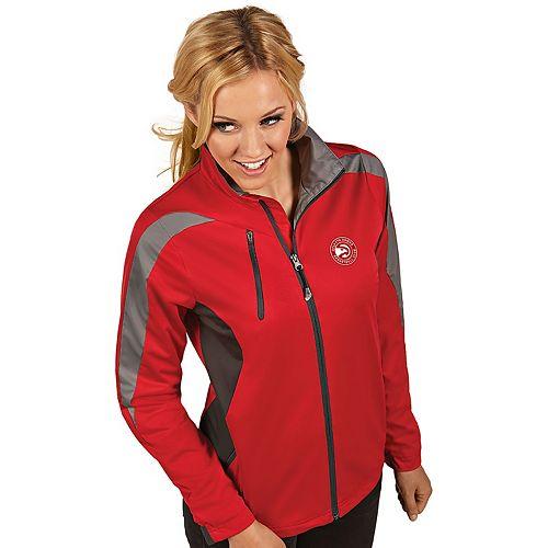 Women's Antigua Atlanta Hawks Discover Full Zip Jacket