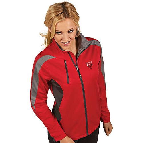 Women's Antigua Chicago Bulls Discover Full Zip Jacket