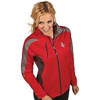 Women's Antigua Houston Rockets Discover Full Zip Jacket
