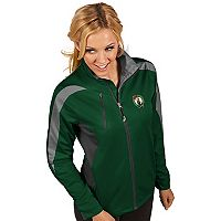 Women's Antigua Boston Celtics Discover Pullover