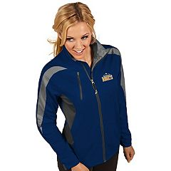 Women's Antigua Denver Nuggets Discover Full Zip Jacket