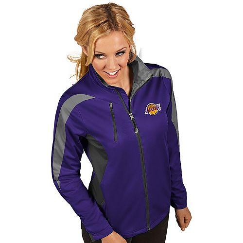Women's Antigua Los Angeles Lakers Discover Full Zip Jacket