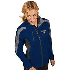 Women's Antigua New Orleans Pelicans Discover Full Zip Jacket
