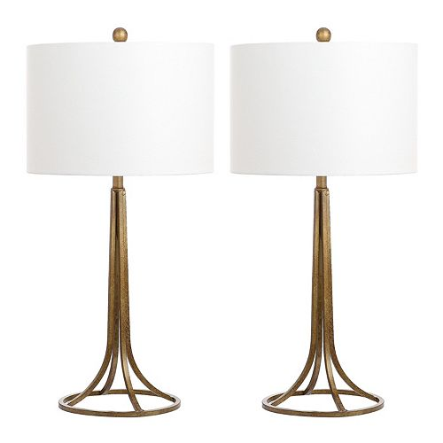 Safavieh Mckenna Table Lamp 2-piece Set