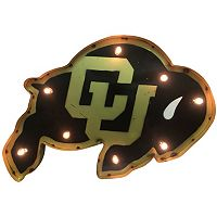 Colorado Buffaloes Light-Up Wall Décor