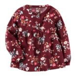 Toddler Girl Carter's Floral Woven Babydoll Top