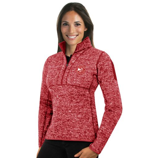 Women's Antigua Atlanta Hawks Fortune Pullover