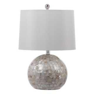 Safavieh Nikki Pearlized Shell Table Lamp