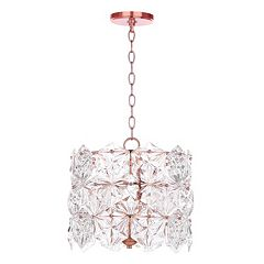 Safavieh Sena 4-Light Adjustable Pendant Light Chandelier