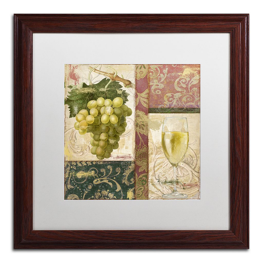Trademark Fine Art Sofia II Framed Wall Art