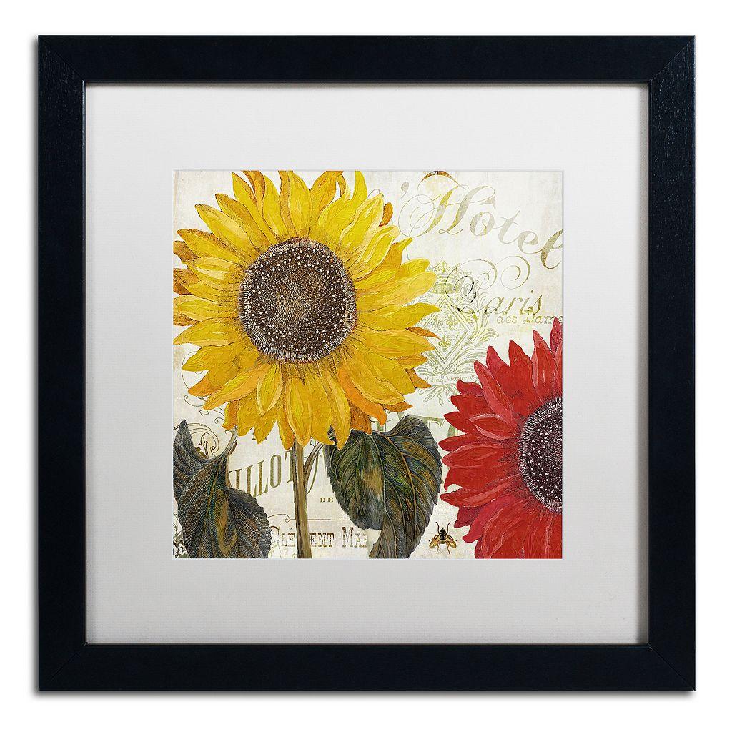 Trademark Fine Art Sundresses I Black Framed Wall Art