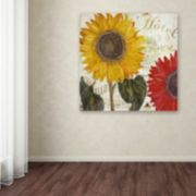 Trademark Fine Art Sundresses I Canvas Wall Art